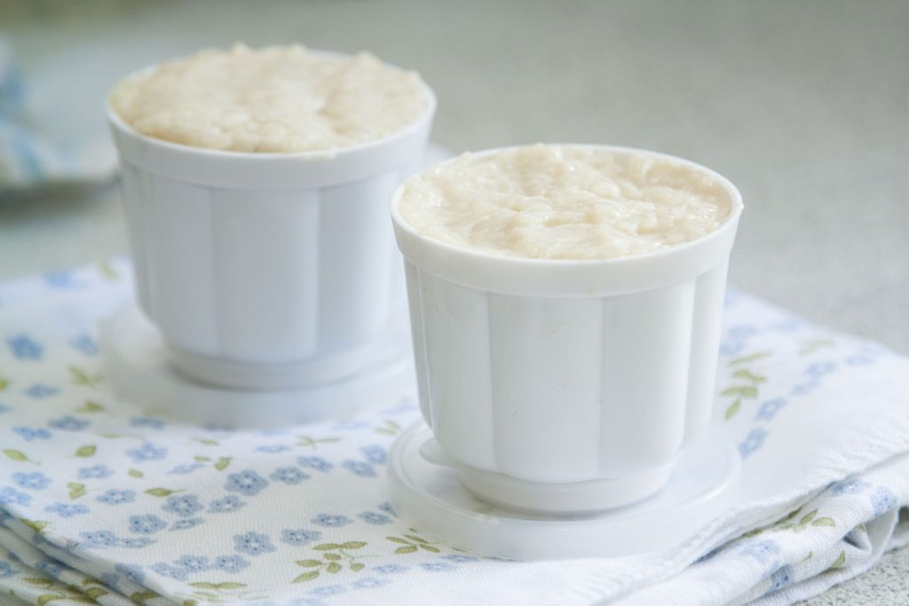 ryz na mleku z formy