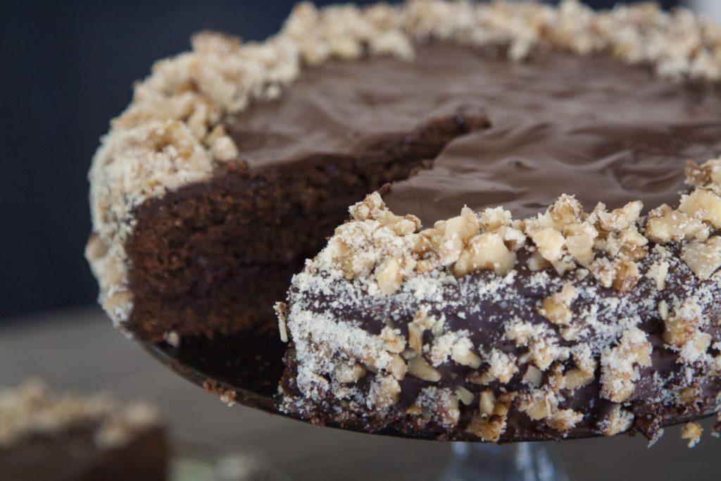 przedwojenny tort czekoladowy