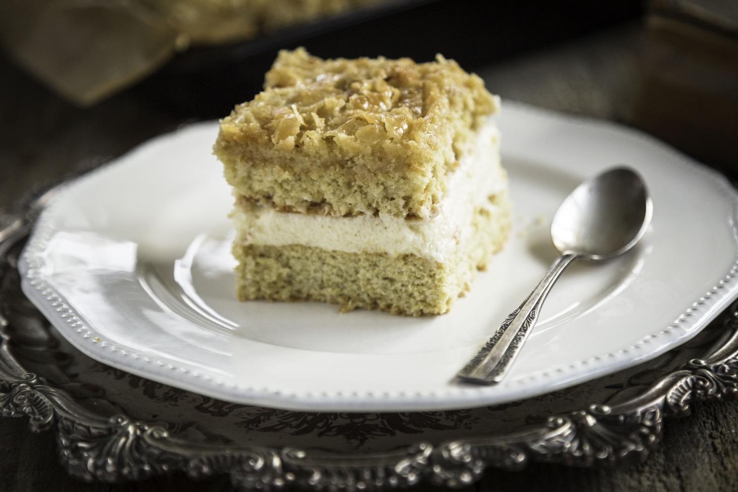 ciasto z kremem grysikowym