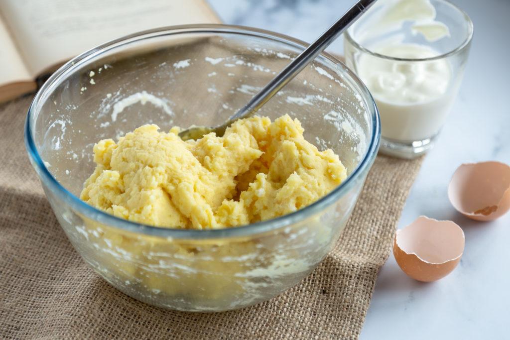 Racuszki z gotowanych kartofli